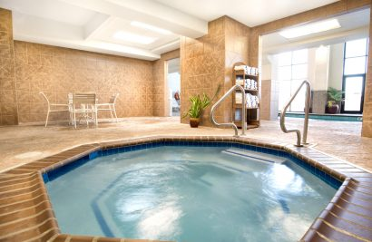 Home indoor pool and hot tub  Indoor Pool & Hot Tub - Grand Plaza
